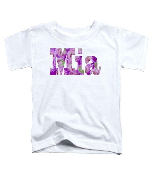 Mia Toddler T-Shirt
