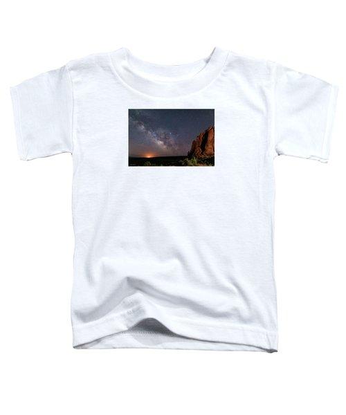 Milky Way At Navajo Rocks Toddler T-Shirt