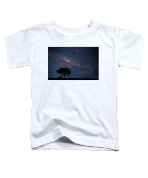 Milky Way Over Africa Toddler T-Shirt