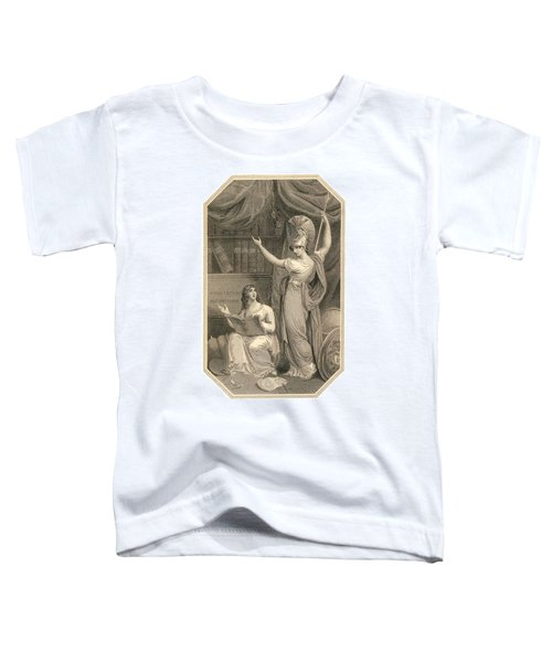 Minerva Directing Study To The  Attainment Of Universal Knowledge Toddler T-Shirt