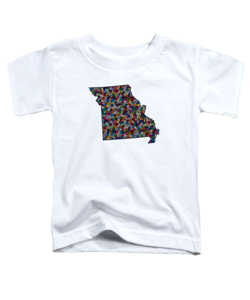 Missouri Map - 3 Toddler T-Shirt