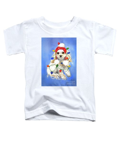 Mocha Merry And Bright Toddler T-Shirt