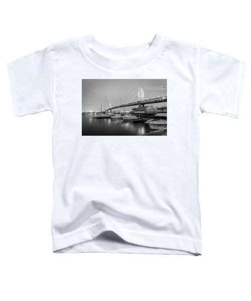 Monochrome Marina  Toddler T-Shirt