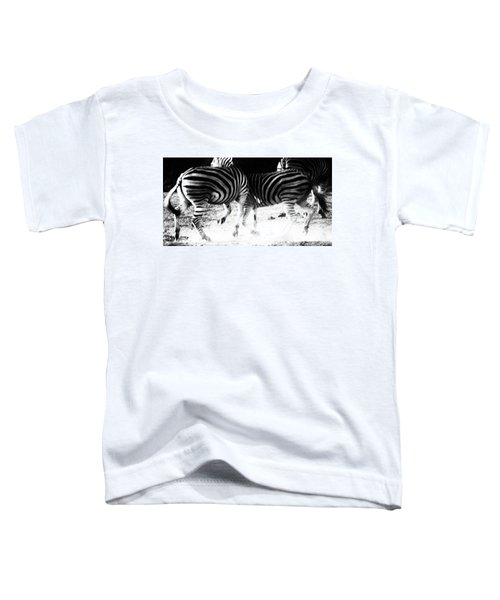 Monochrome Motion Toddler T-Shirt