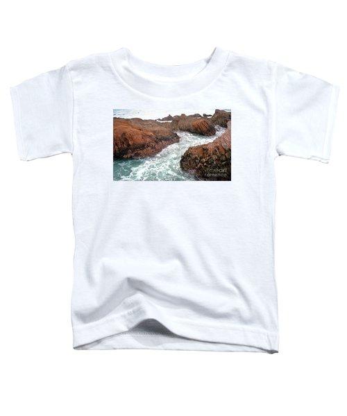 Montana Jagged Rocks Toddler T-Shirt