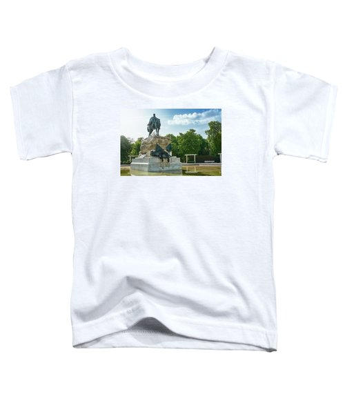 Monument To General Arsenio Martinez Campos In Madrid, Spain Toddler T-Shirt
