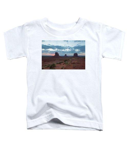 Monument Valley Before Sunrise Toddler T-Shirt