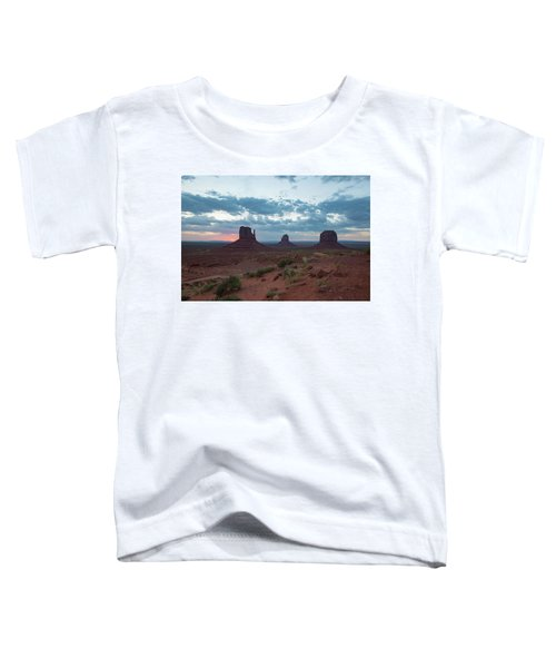 Monument Valley Before Sunrise Toddler T-Shirt