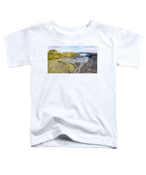 Mountain Glacier Toddler T-Shirt