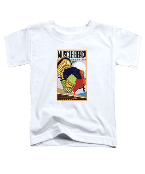 Muscle Beach Toddler T-Shirt