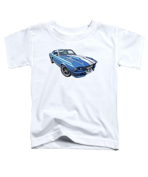 Mustang Blues - 1967 Eleanor Gt 500 Toddler T-Shirt