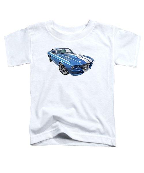 Mustang Blues - 1967 Eleanor Gt 500 Toddler T-Shirt