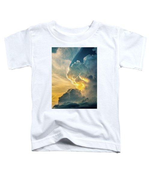 Nebraska Sunset Thunderheads 075 Toddler T-Shirt