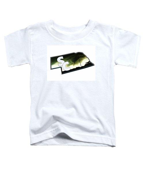 Nebraskasc Logo White Toddler T-Shirt