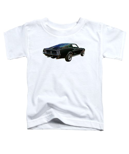 Neon Mustang Fastback 1967 Toddler T-Shirt