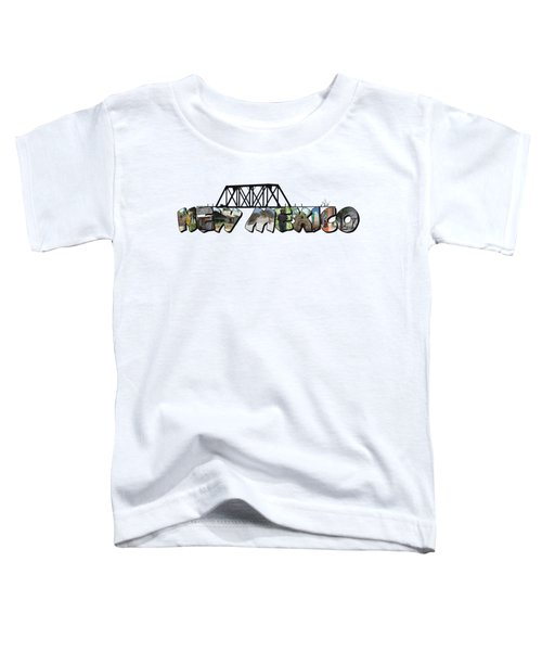 New Mexico Big Letter Toddler T-Shirt
