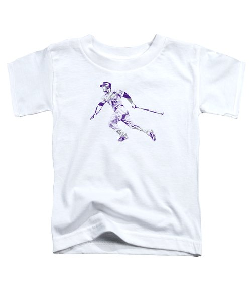 Nolan Arenado Colorado Rockies Pixel Art  Toddler T-Shirt