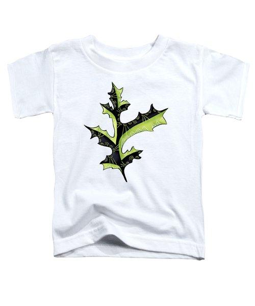 Oak Leaf With Tattoos Toddler T-Shirt