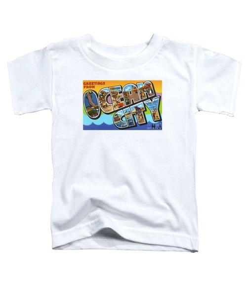 Ocean City Greetings Toddler T-Shirt