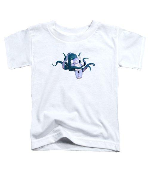 Octopus And Purple Bear Toddler T-Shirt