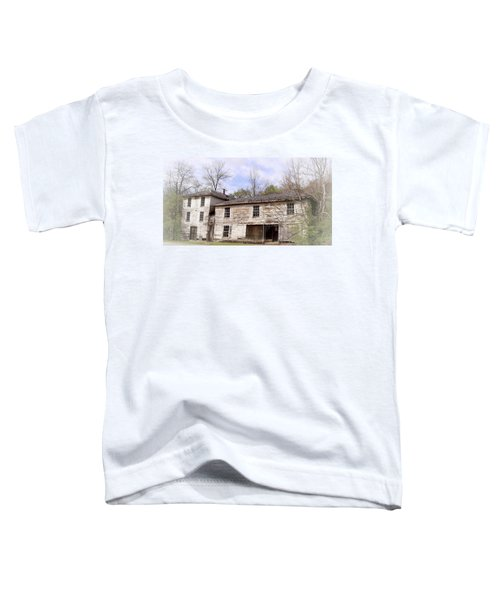 Old Abandoned House In Fluvanna County Virginia Toddler T-Shirt