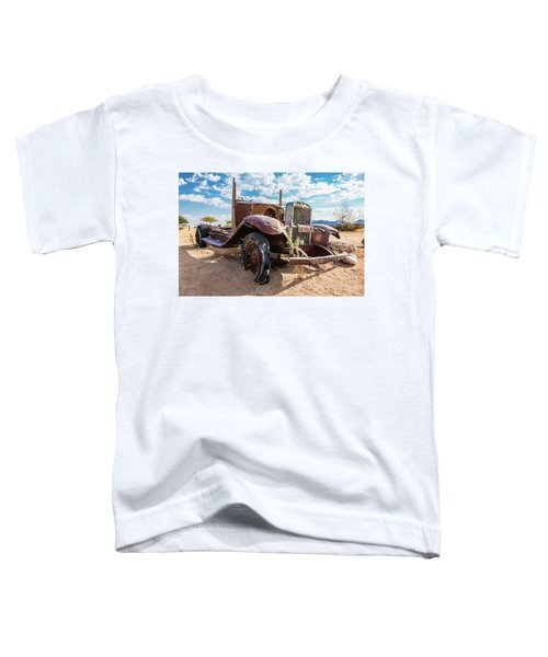 Old And Abandoned Car 3 In Solitaire, Namibia Toddler T-Shirt