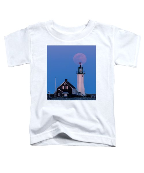 Old Scituate Light Toddler T-Shirt