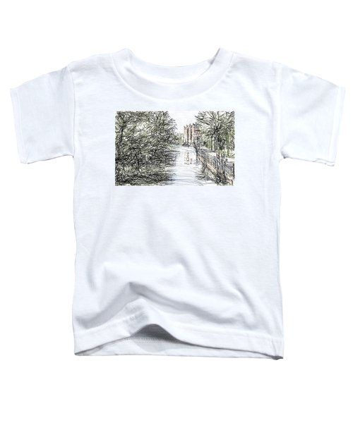 On The Banks Of The River Promenade  Toddler T-Shirt