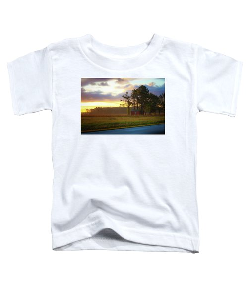 Onc Open Road Sunrise Toddler T-Shirt