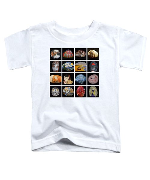 Painted Rock Art Toddler T-Shirt