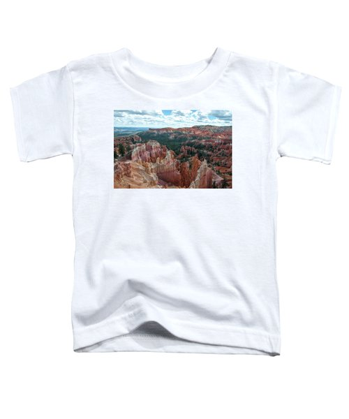 Panorama  From The Rim, Bryce Canyon  Toddler T-Shirt