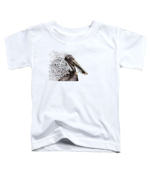 Pelican With Transparent Background Toddler T-Shirt
