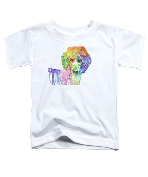 Perfect Poodle Toddler T-Shirt
