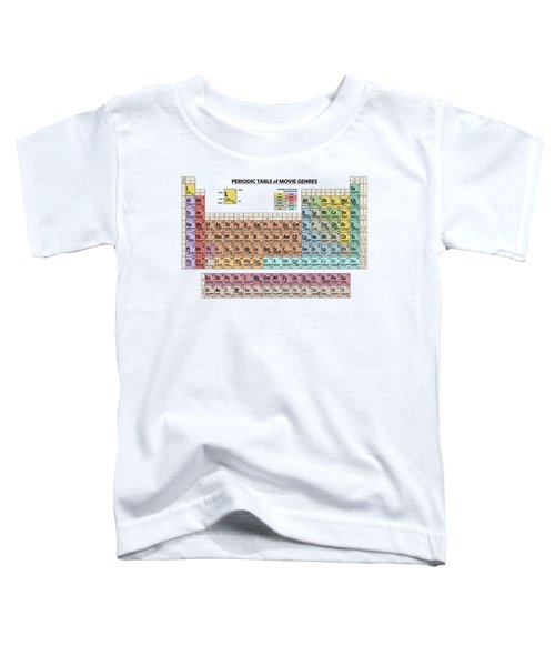 Periodic Table Of Movie Genres Toddler T-Shirt