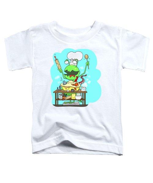 Peter And The Closet Monster, Baker Toddler T-Shirt