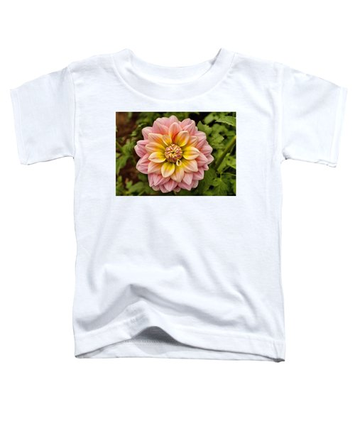 Pink And Yellow Toddler T-Shirt