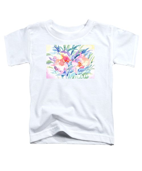 Pink Flowers Toddler T-Shirt