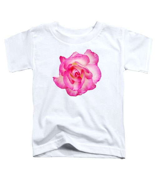 Pink Halo Rose Toddler T-Shirt