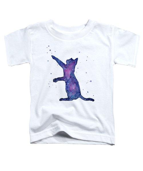 Playful Galactic Cat Toddler T-Shirt