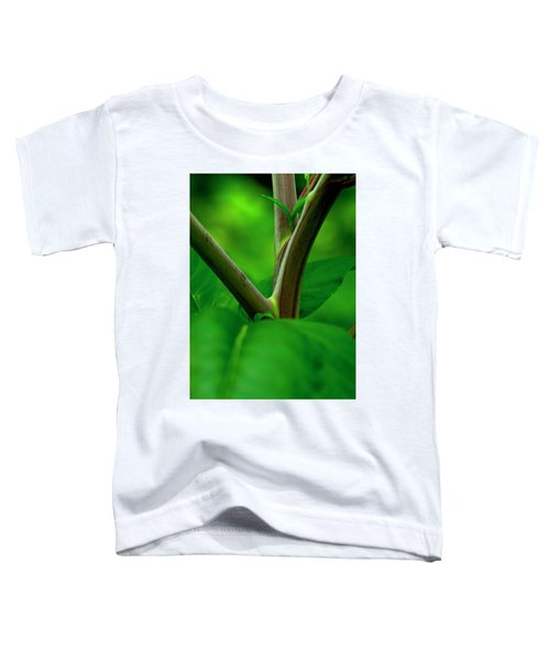 Pokeweed Stems And Leaves Toddler T-Shirt