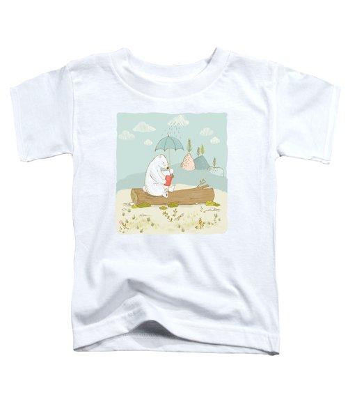 Polar Bear Vacation I Toddler T-Shirt