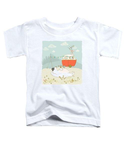 Polar Bear Vacation II Toddler T-Shirt