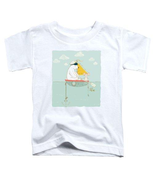 Polar Bear Vacation IIi Toddler T-Shirt