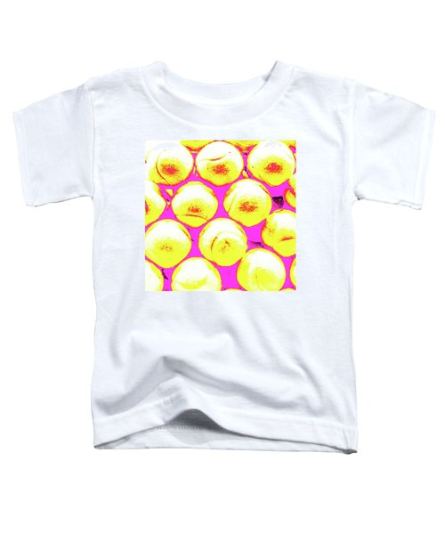 Pop Art Tennis Balls Toddler T-Shirt