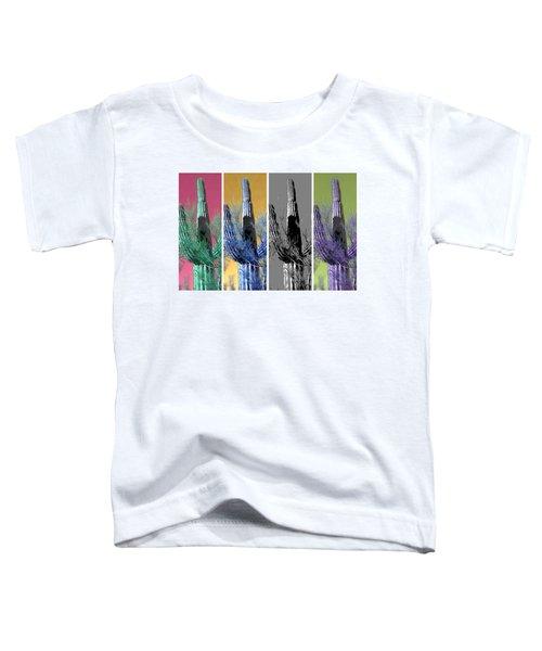 Pop Saguaro Cactus Toddler T-Shirt