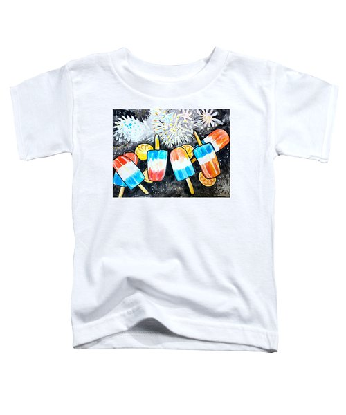 Popsicles And Fireworks Toddler T-Shirt