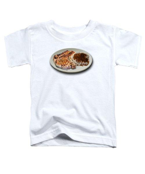 Pork Chop And Rice Toddler T-Shirt