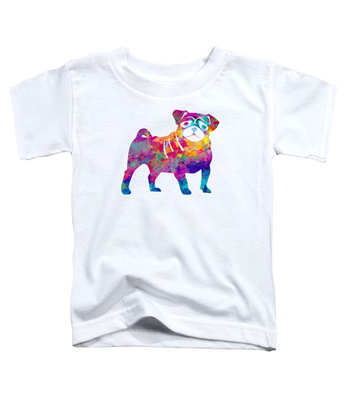 Pug Toddler T-Shirt