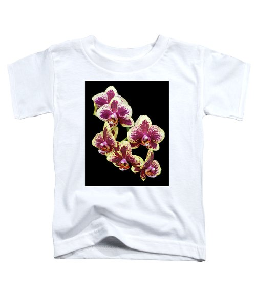 Purple And Yellow Orchid-4 Toddler T-Shirt