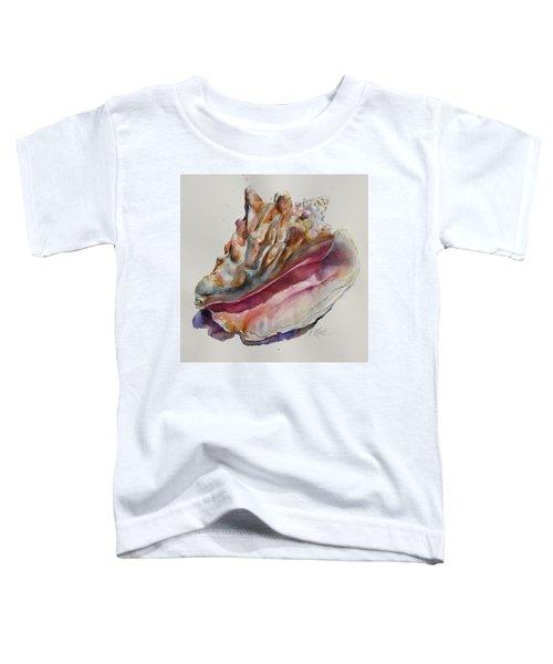 Queen Conch Shell Toddler T-Shirt